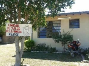 Die Krankenstation in Hugua sa'yju