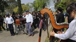 Begräbnis von Cesar Cataldo
