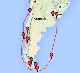 Kreuzfahrt Kap Horn, Feuerland & Patagonien
