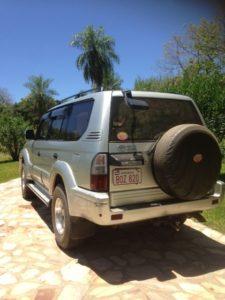 Toyota Prado - Mietwagen Paraguay