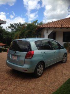 Toyota Spacio - Mietwagen Paraguay