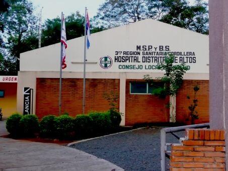 Krankenhaus in Altos, Paraguay
