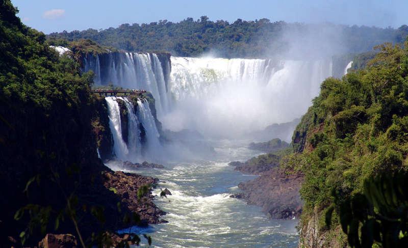 Paraguay Reise zum Iguazú Wasserfall