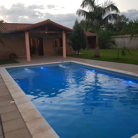Haus mit Pool in Limpio