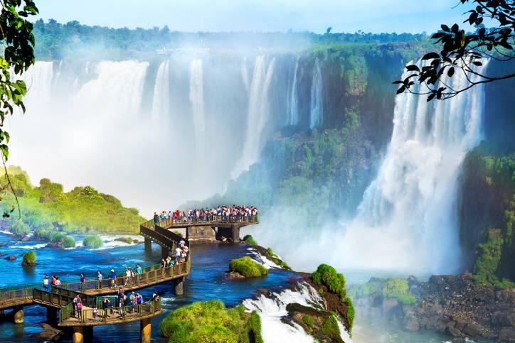 Urlaub an den Wasserfällen von Iguazu