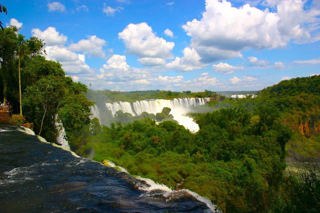 Argentinien Wasserfälle von Iguazu