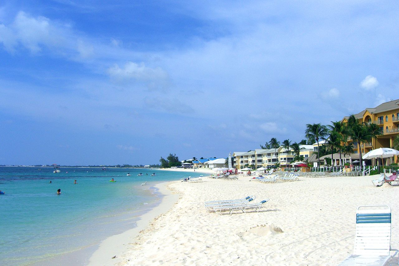 Seven-Mile-Beach auf Grand Cayman