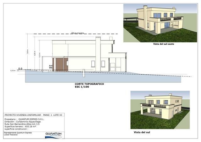 Agua Village bei San Bernardino, neues Objekt in Planung