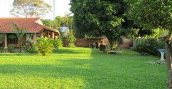 Haus an der Grenze von San Lorenzo und Capiata