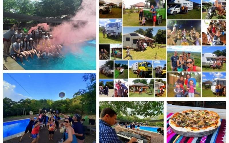 Sind Sie daran interessiert, in den Tourismus in Paraguay zu investieren? Sehr gute Rendite für diesen Campingplatz in La Colmena, mit 4,5 ha Land